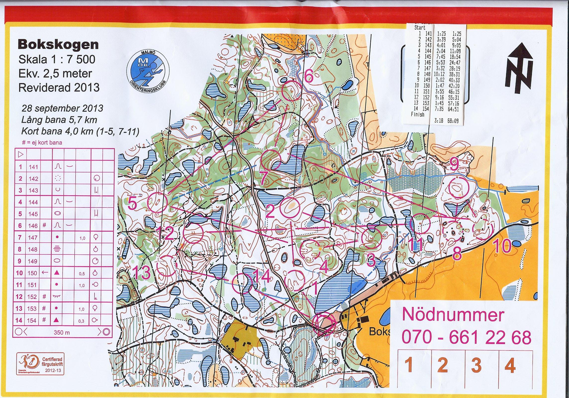karta bokskogen torup Mitt digitala kartarkiv :: TPIF Bokskogen (2013 09 28) karta bokskogen torup
